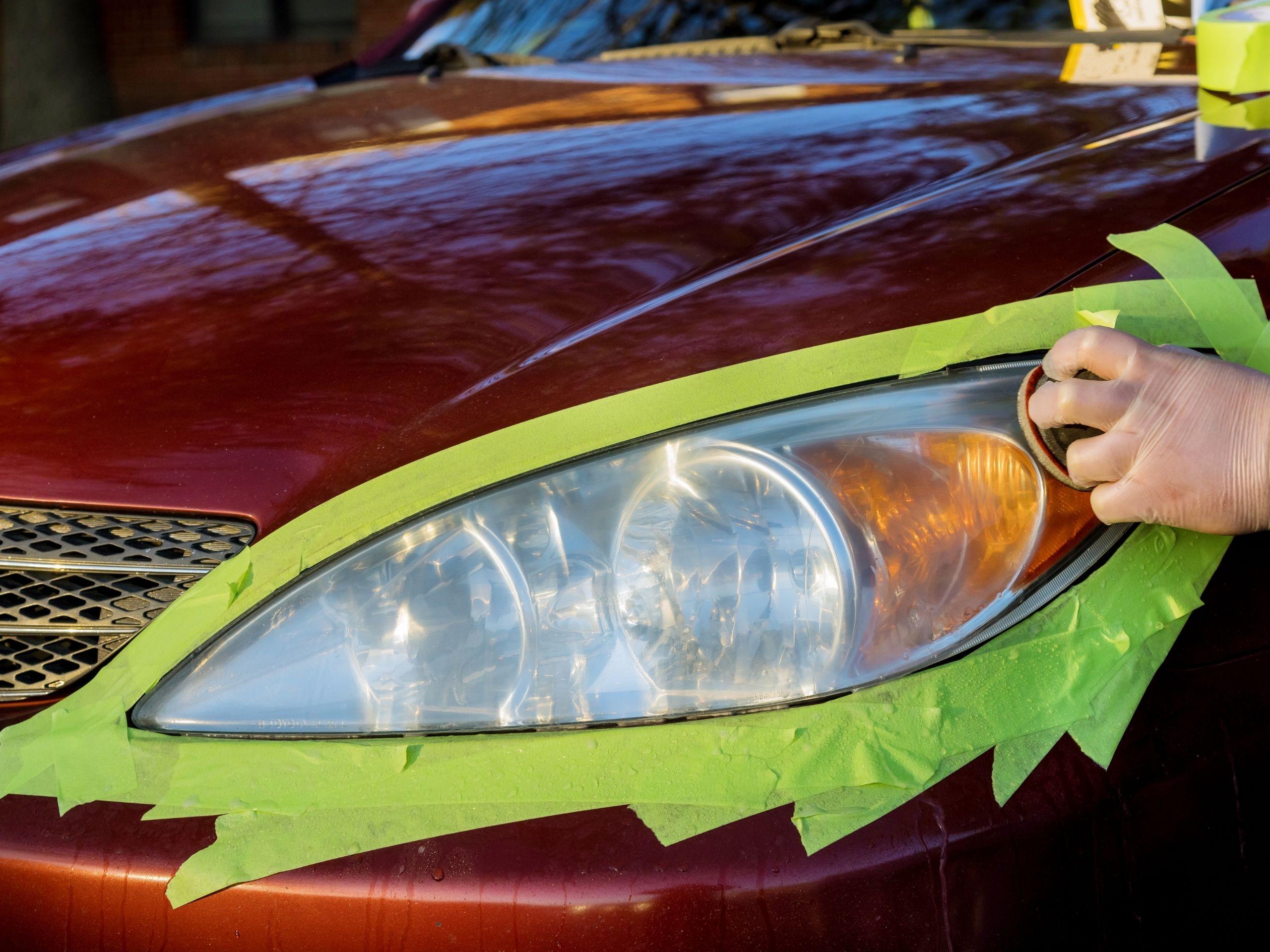 Car Headlight Restoration Service Near Me