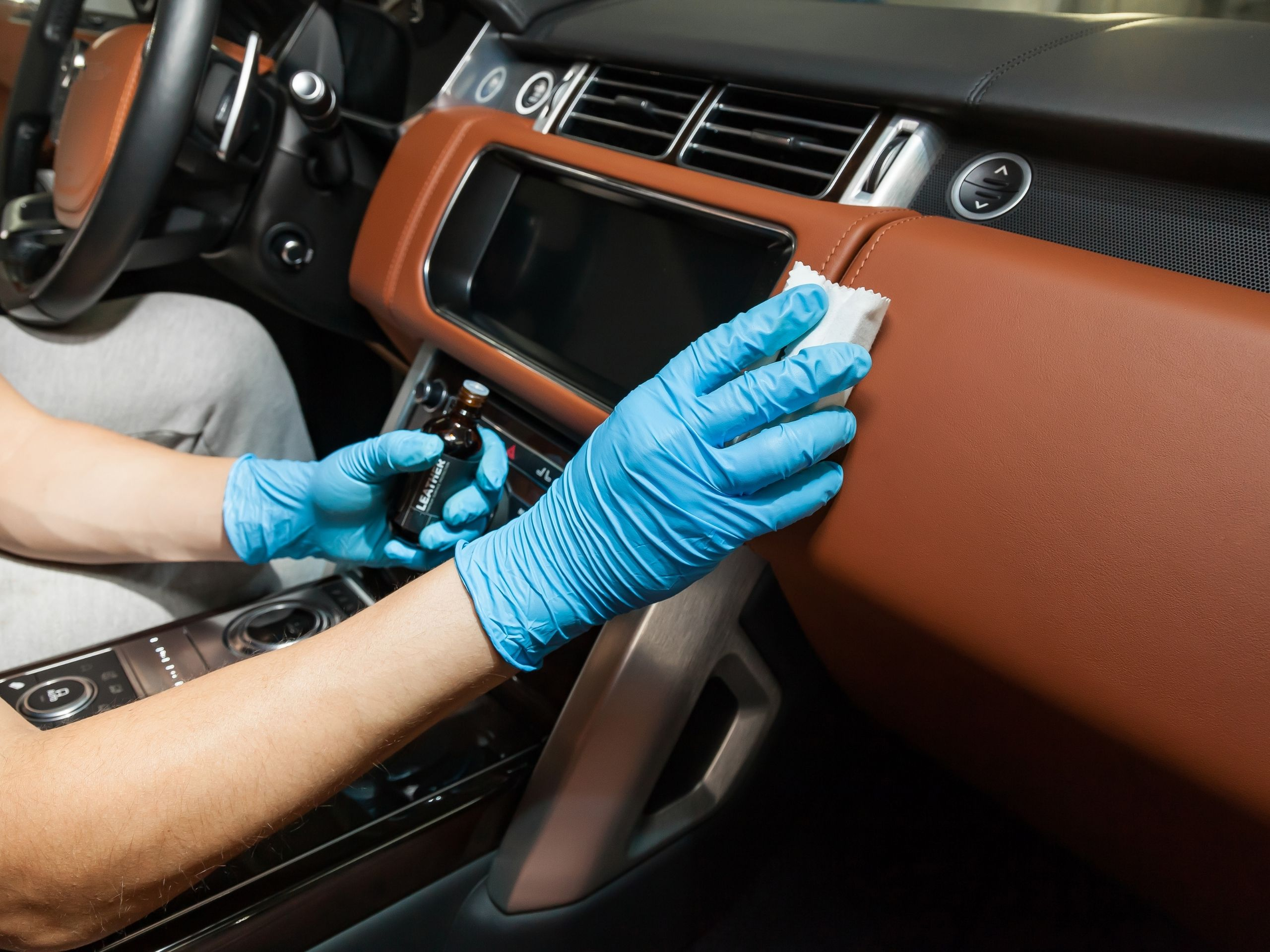 car interior and exterior cleaning