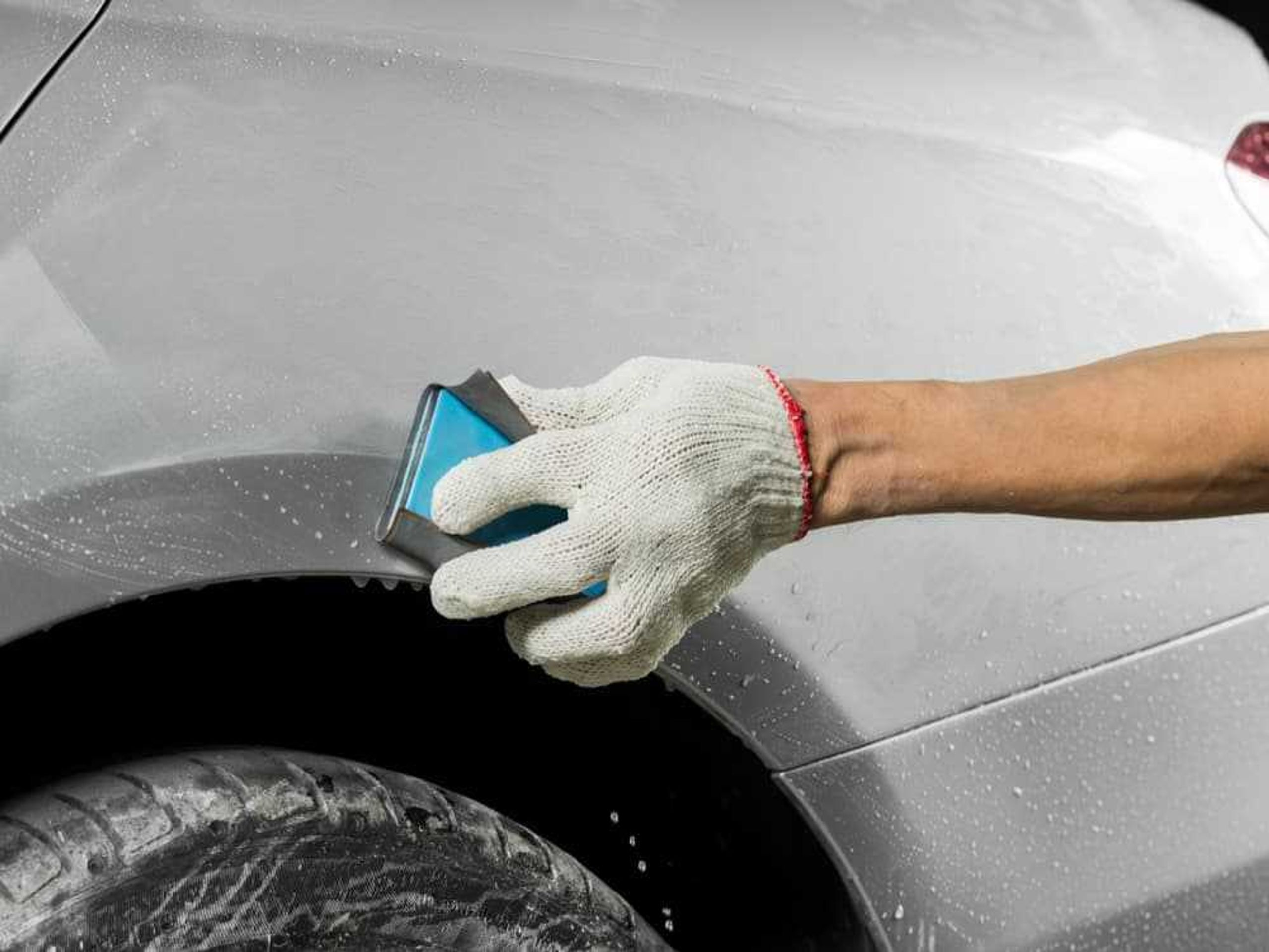 Overspray Remover For Cars
